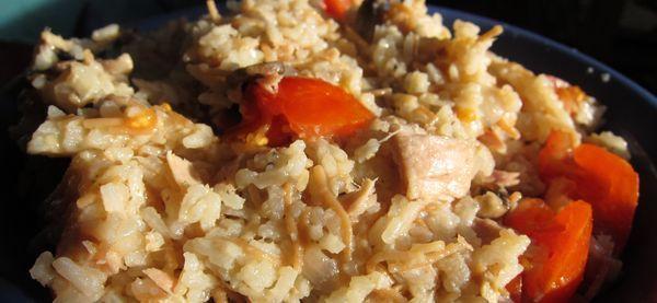Ensalada de arroz con at n tomate y champi ones el - Ensalada de arroz y atun ...
